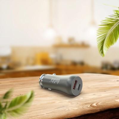 Durata 38W USB-C PD Car Charger + USB Slot DR2027