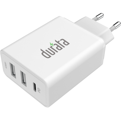 Durata AC Adapter with 2 USB Slot & 1PD DR-70