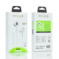 Rixus Stereo Earphone For Lightning  Pop up Window RX-HD-20A