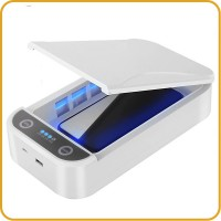 UV smartphone cleaner With Wireless Charging 10W
