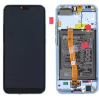 Huawei Honor 10 02351XAE OEM Service Part Screen Incl. Battery - Gray