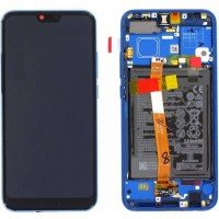 Huawei Honor 10 02351XBP OEM Service Part Screen Incl. Battery - Sapphire Blue