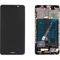 Huawei Mate 9 OEM Service Part Screen Incl. Battery (02351BDD) - Black