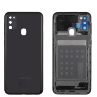 Samsung Galaxy M21 SM-M215F Battery Cover (GH82-22609A) - Black