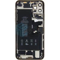 iPhone 11 Pro Max Middle Frame OEM Pulled (A) Complete With Parts & Battery - Gold