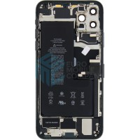 iPhone 11 Pro Max Middle Frame OEM Pulled (A) Complete With Parts & Battery - Midnight Green
