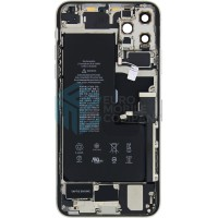 iPhone 11 Pro Max Middle Frame OEM Pulled (A) Complete With Parts & Battery - White