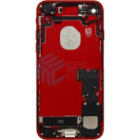 iPhone 7 Middle Frame OEM Pulled (A) Complete With Parts - Red