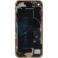 iPhone 8 Middle Frame OEM Pulled (A) Complete With Parts & Battery - Gold