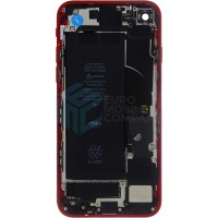 iPhone 8 Middle Frame OEM Pulled (A) Complete With Parts & Battery - Red