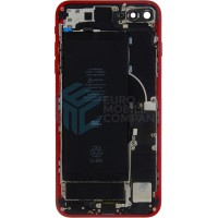 iPhone 8 Plus Middle Frame OEM Pulled (A) Complete With Parts & Battery - Red