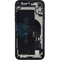 iPhone XR Middle Frame OEM Pulled (A) Complete With Parts & Battery - Black