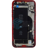 iPhone XR Middle Frame OEM Pulled (A) Complete With Parts & Battery - Red