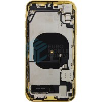 iPhone XR Middle Frame OEM Pulled (A) Complete With Parts - Yellow