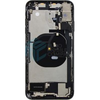 iPhone XS Max Middle Frame OEM Pulled (A) Complete With Parts - Black