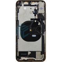 iPhone XS Max Middle Frame OEM Pulled (A) Complete With Parts - Gold