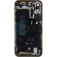 iPhone XS Middle Frame OEM Pulled (A) Complete With Parts & Battery - Gold
