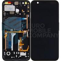 Google Pixel 4 Display + Touchscreen + Frame OEM - Black