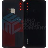Huawei P20 Lite (ANE-L21) OEM Service Part Battery cover + Fingerprint - Midnight black 02351VPT