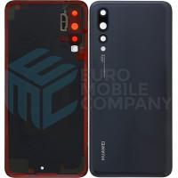 Huawei P20 Pro (CLT-L09/ CLT-L29) Battery Cover - Midnight Black