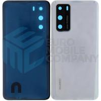 Huawei P40 (ANA-NX9) Battery Cover - Ice White