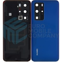 Huawei P40 Pro (ELS-NX9) Battery Cover - Deep Sea Blue