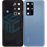 Huawei P40 Pro (ELS-NX9) Battery Cover - Silver Frost