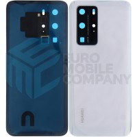 Huawei P40 Pro (ELS-NX9) Battery Cover - Ice White