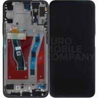 Huawei Honor 9X (STK-LX1) Display + Digitizer With Frame - Black