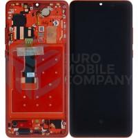 Huawei P30 Pro Complete Display + Frame (OEM) - Amber Sunrise