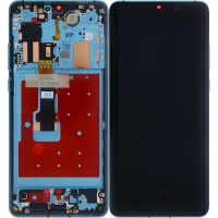 Huawei P30 Pro Complete Display + Frame (OEM) - Aurora Blue