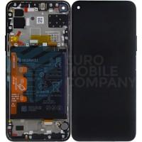 Huawei P40 Lite 5G (CDY-NX9A) OEM Service Part Screen Incl. Battery (02353SUN) - Black