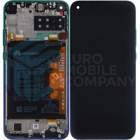 Huawei P40 Lite E 02353FMX (ART-L29) OEM Service Part Screen Incl. Battery - Aurora Blue
