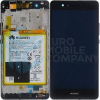 Huawei P9 Lite OEM Service Part Screen Incl. Battery (02350TRB) - Black