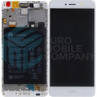 Huawei Y7 (TRT-L21) / Y7 Prime OEM Service Part Screen Inc Battery (02351GJV) - White