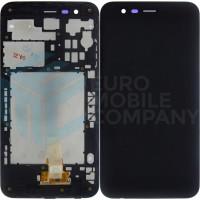 LG K30 Display + Digitizer + Frame - Black