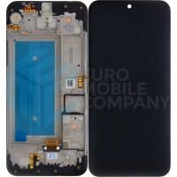 LG K40s (LM-X430) LCD + Digitizer + Frame - Black