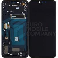 LG G8 Thinq Display + Digitizer + Frame - Black