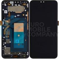 LG V40 ThinQ Display + Digitizer With Frame - Black