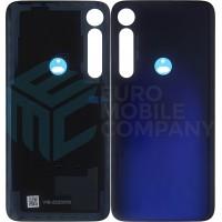 Motorola Moto G8 Plus Back cover + Adhesive (5S58C15537) - Blue