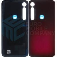 Motorola Moto G8 Plus Back cover + Adhesive (5S58C15538) - Red