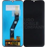 Motorola Moto E6s 2020 Display + Digitizer Complete - Black