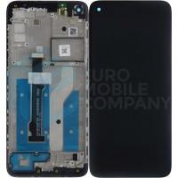 Motorola Moto G8 Display + Digitizer + Frame (5D68C16383) - Black