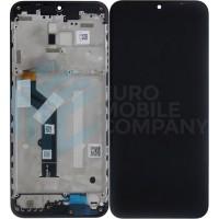 Motorola Moto G9 Play Display + Digitizer + Frame (5D68C17397) - Black