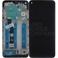 Motorola Moto G9 Plus Display Complete + Frame (5D68C17281) - Black