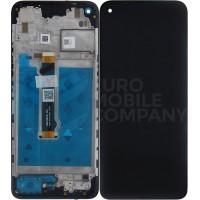 Motorola Moto G9 Power Display Complete + Frame (5D68C17634) - Black