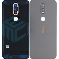 Nokia 7.1 (TA-1095) Battery Cover - Gloss Steel 20CTLSW0004
