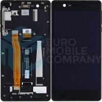 Nokia 3 (TA-1020; TA-1032) LCD + Touchscreen With Frame - Black