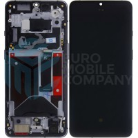OnePlus 7T (HD1901) Display + Digitizer + Frame OEM - Frosted Silver