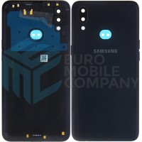 Samsung Galaxy A10s (SM-A107F/DS) Battery Cover - Black
